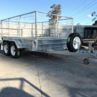 10x6 Galvanised Cage Trailer for Sale Brisbane