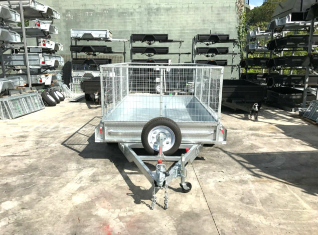 10x6 Galvanised Cage Trailer for Sale in Brisbane