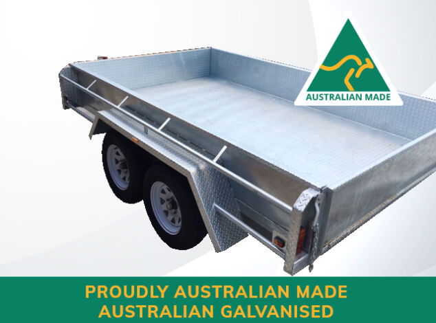 Australian Aussie Made Australian Galvanised Box Trailer for Sale in Brisbane