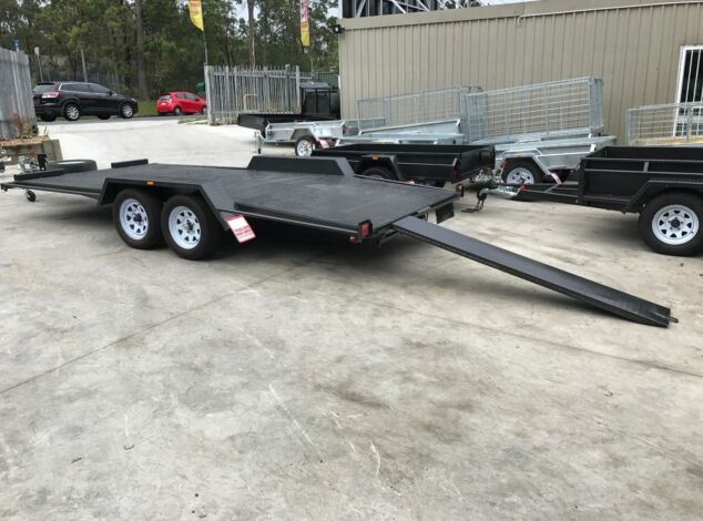 """16x6'6"""" Beaver Tail Car Carrier Trailer for Sale in Brisbane"""
