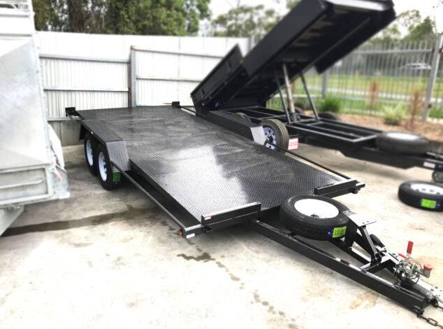 "16x6'6"" Semi Flat Top Car Carrier For Sale in Brisbane"