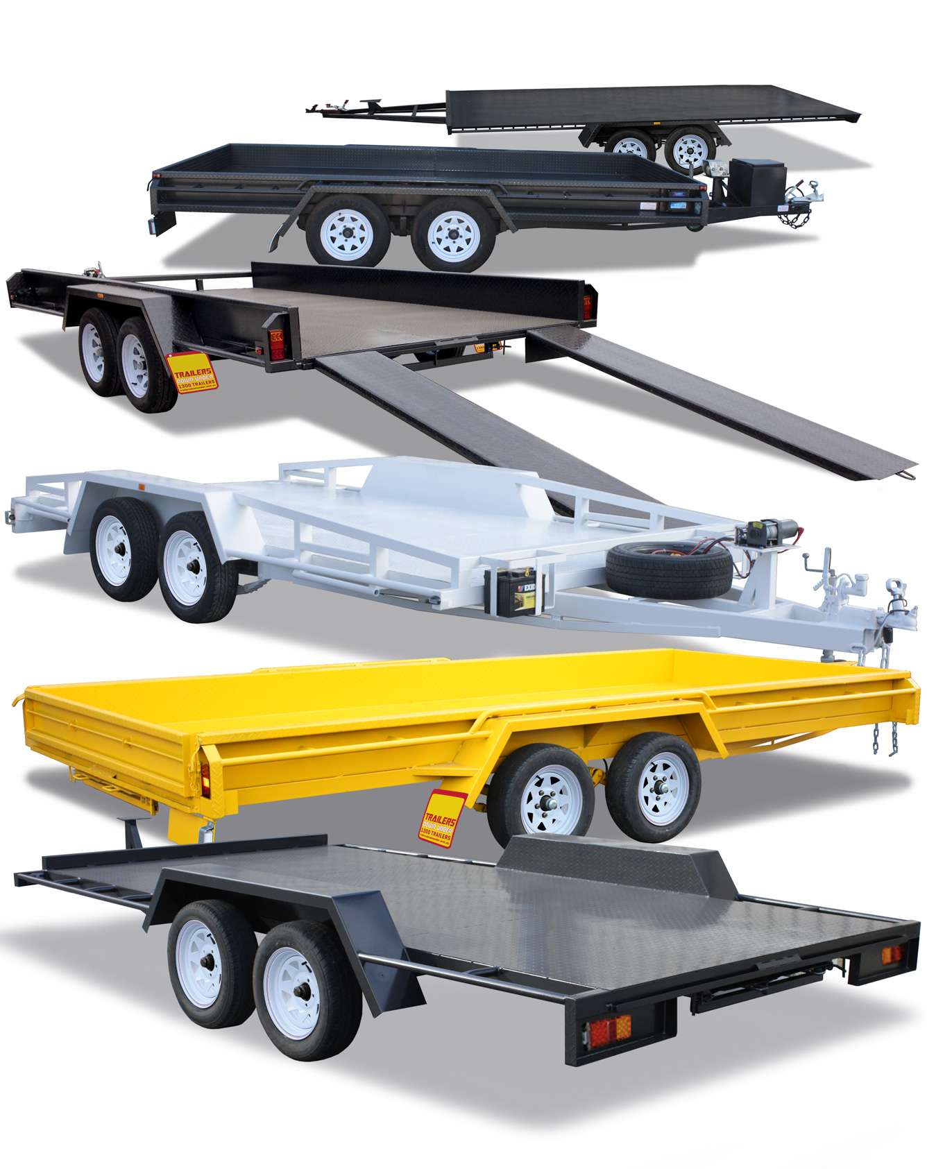 Car Carrier Trailers For Sale Brisbane Gold Coast Galvanised Car