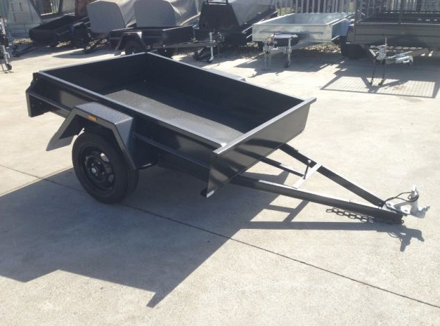 6x4 Single Axle Box Trailer for Sale in Brisbane
