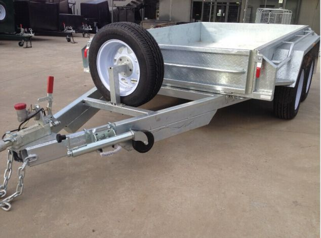 8x5 Heavy Duty Tandem Galvanised Trailers Trailer For Sale