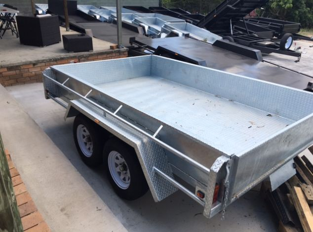 Tandem Box Heavy Duty Aussie Galvanised Box Trailer for Sale