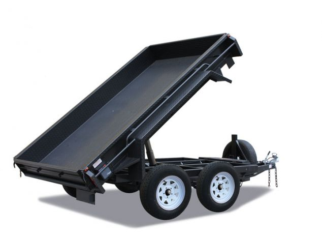8x5 Deluxe Heavy Duty Tandem Hydraulic Tipper Trailer for Sale