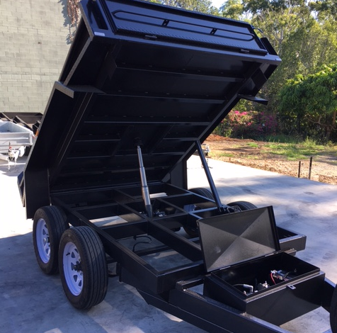 8x5 Hydraulic Tandem Tipper Trailer For Sale in Brisbane