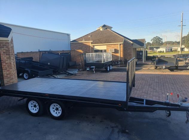 10x6 Heavy Duty Flat Top Trailer For Sale