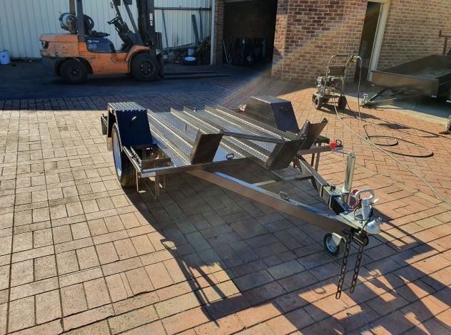 Deluxe Heavy Duty Bike Trailer For Sale Brisbane