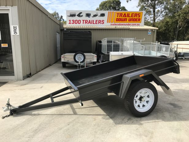 6x4 Domestic Heavy Duty Smooth Floor Box Trailer For Sale Brisbane