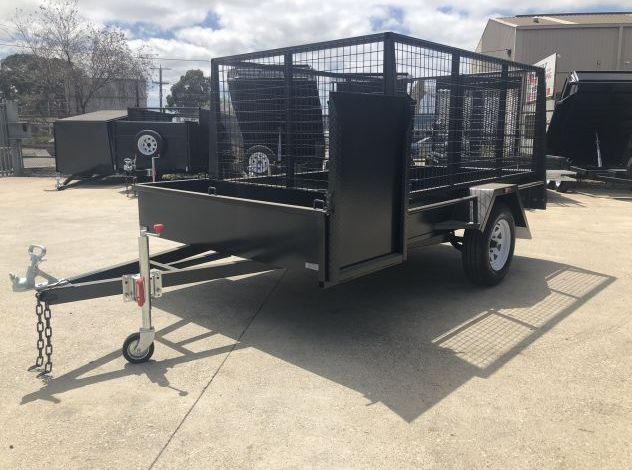Standard Gardening Trailer with Mower Box For Sale in Brisbane