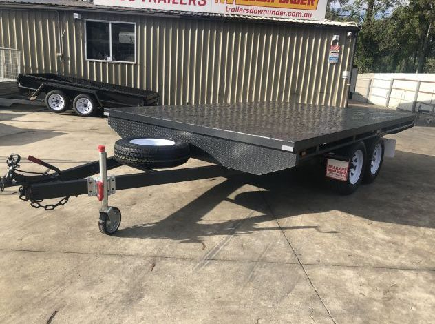 10x6 B/Spec Tandem Axle Flat Top Trailer For Sale in Brisbane