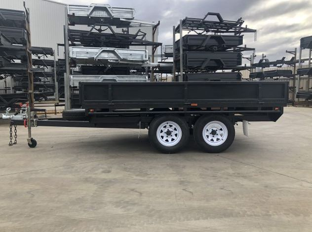 10x6 B/Spec Tandem Axle Flat Top Trailer with Sides For Sale in Brisbane