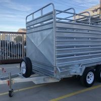 10x6 Galvanised Cattle Live Stock Trailers For Sale - Brisbane