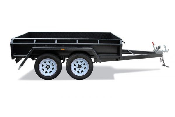 8x5 B/Spec Australian Made Tandem Box Trailer For Sale Brisbane