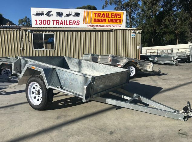 6x4 Commercial Heavy Duty Australian Made Galvanised Trailer for Sale - Brisbane