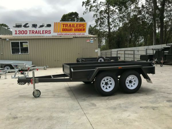 8x5 Standard Tandem Box Trailer For Sale