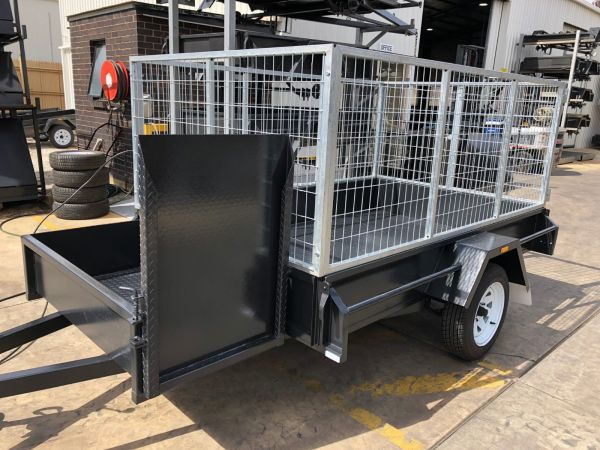6x4 Basic Gardening Trailer For Sale Brisbane
