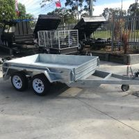 8x5 Heavy Duty Tandem Galvanised Trailer For Sale - Brisbane