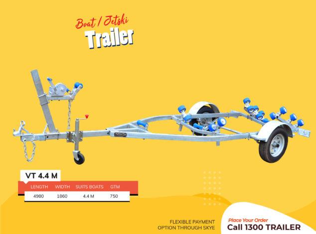 4.4-M-Boat-Jet-Ski-Trailer-Fibre-Glass-Boat-Brisbane2