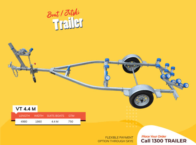 4.4-M-Boat-Jet-Ski-Trailer-Fibre-Glass-Boat-Brisbane3