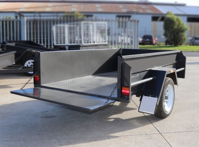 6x4 Box Trailer for Sale with 18 inches high sides - Brisbane