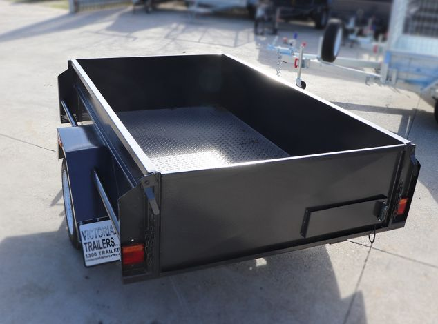 6x4 Box Trailer for Sale in Brisbane with High Sides
