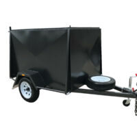 6x4 Heavy Duty Single Axle Fully Enclosed Van trailer For Sale Brisbane