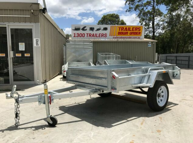 7x4 Galvanised Box Trailer for Sale in Brisbane