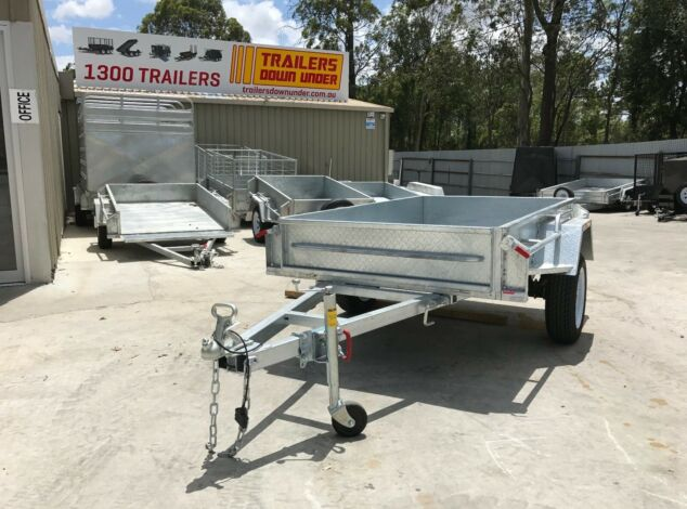 7x4 Galvanised Box Trailer for Sale in Brisbane1