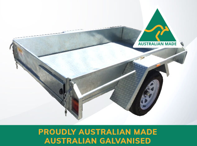 7x4-Single-Axle-Australian-Galvanised-Box-Trailer-For-Sale-Brisbane
