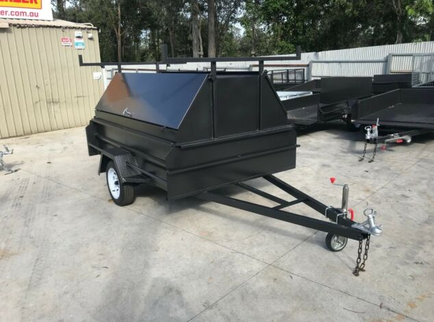8x5-single-axle-queensland-special-heavy-duty-tradesman-builder-trailer-sale