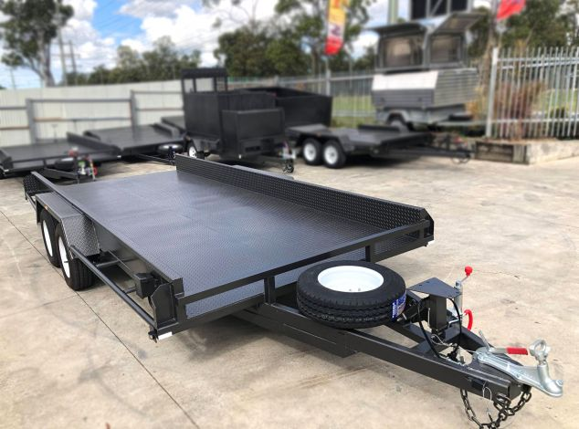 Box Car Carrier with Front Stop Bar - Car Trailer for Sale Brisbane