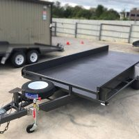Box Car Carrier for Sale in Brisbane with Front Stop Bar