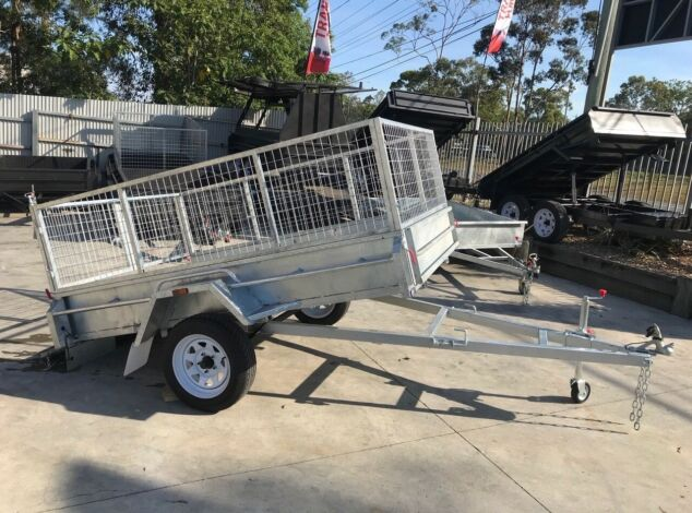 galvanised-cage-trailer-with-tilt-function-sale-brisbane