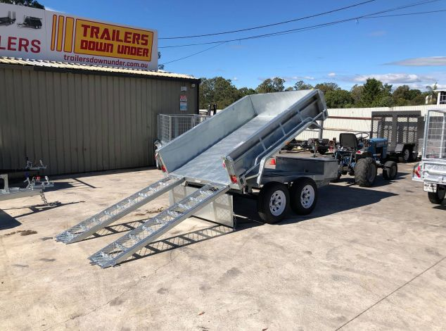 Galvanised Tipper Trailer with 3.5 Tonne GVM
