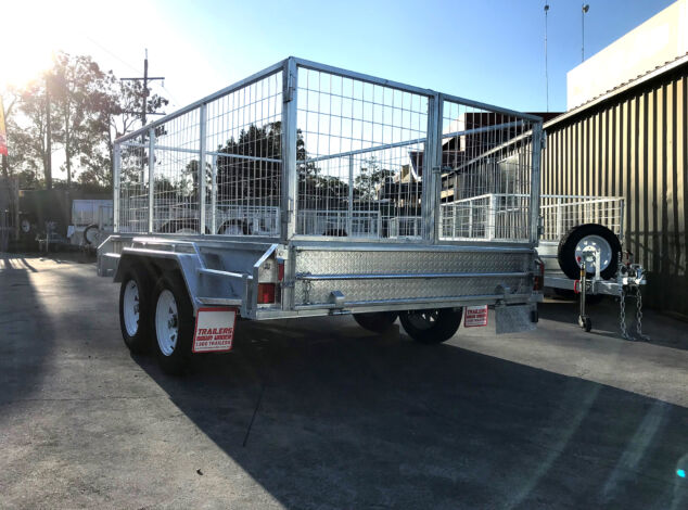 Heavy Duty Tandem Galvanised Trailer for Sale Brisbane