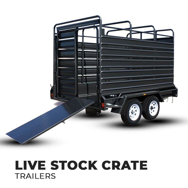Live Stock Crate Trailers for Sale Brisbane